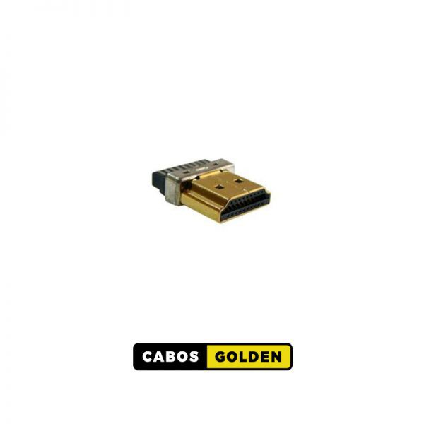 CONECTOR HDMI banhado a ouro 24K
