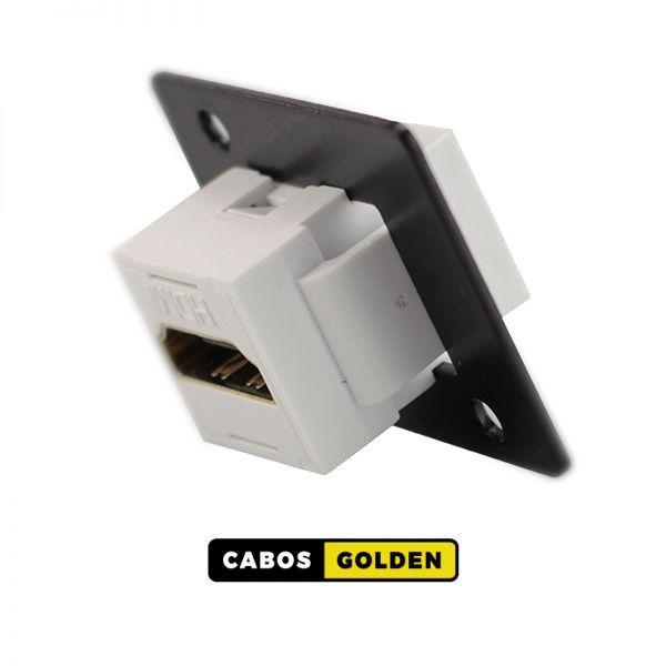 CHAPAS COM CONECTORES CHAPA HDMI KEY STONE