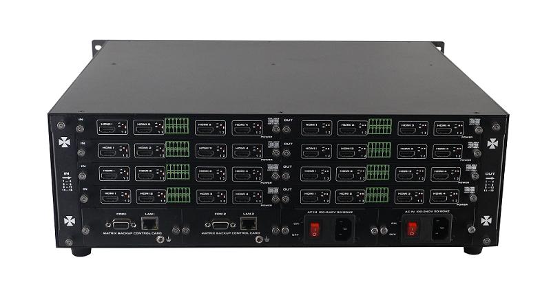 Matrix Modular / Chassi Modular 16x16, rack 3U, TCP/IP e RS232