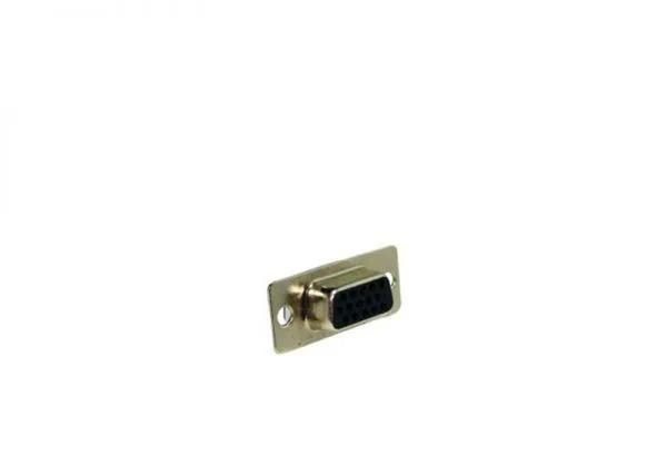 CONECTORES DB e RS232 CONECTOR HD15 (SVGA) FÊMEA P/ CABO/PAINEL