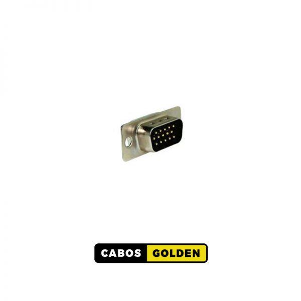 CONECTORES DB e HD CONECTOR HD15 (SVGA) Macho P/CABO/PAINEL