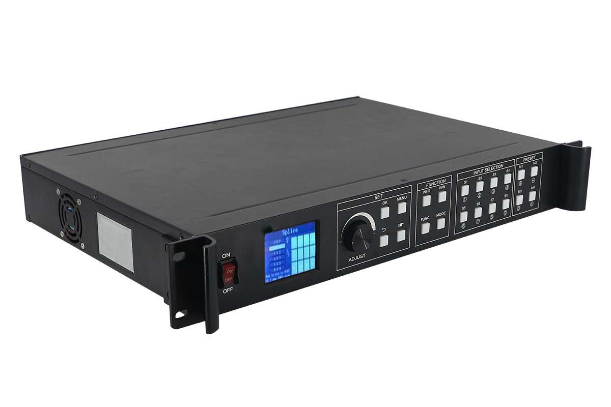 CONTROLADOR DE VIDEO WALL, PAINEL DE LED E SCALER VPX-0812 8 inputs e 12 outputs VÍDEO Processador