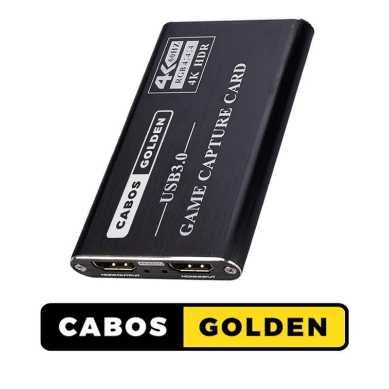 Conversor HDMI 4k @60hz para USB 3.0 (Placa de Captura)