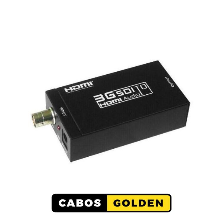 Conversor SD-SDI, HD-SDI e 3G-SDI para HDMI