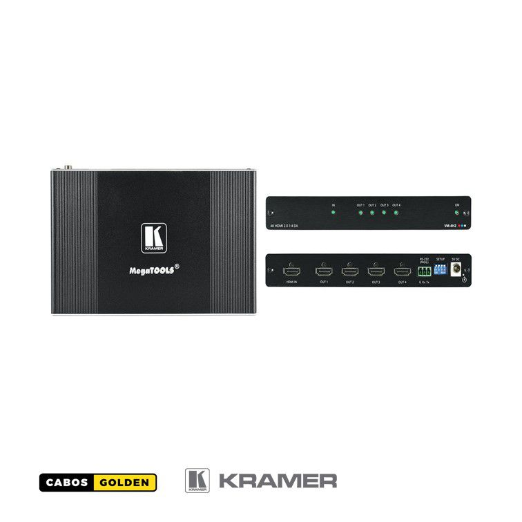 Distribuidor HDMI 1: 4