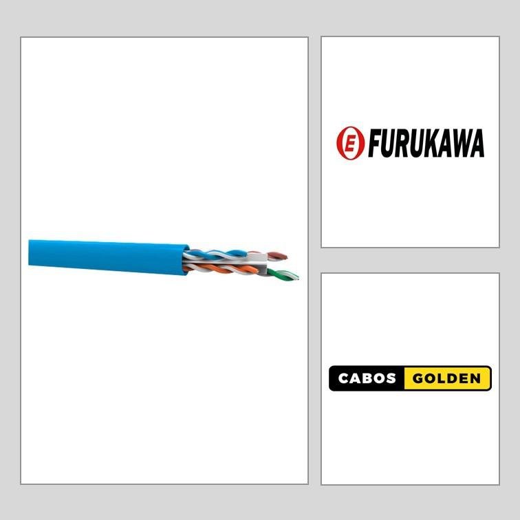 FIO UTP CAT 6 por metro (Soho Plus)(Furukawa) Homologado Anatel