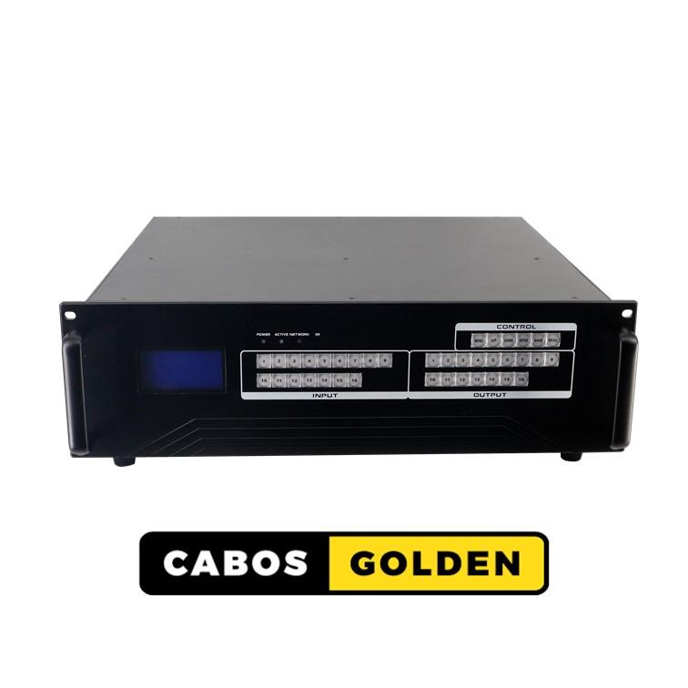 Matrix Modular / Módulo de saída com 4 portas HDBaseT 100m (Cat6/7) 1080p com IR, RS232 e POC para a linha de Chassis FXM