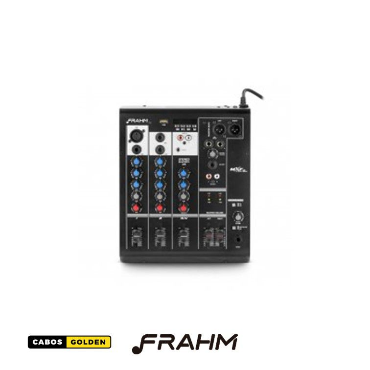 Mesa de Som Frahm - Bluetooth - até 12 canais