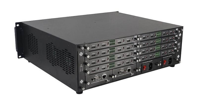 Matrix Modular / Módulo de entrada com 4 portas HDMI 1080p e entrada de áudio para a linha de Chassis FXM