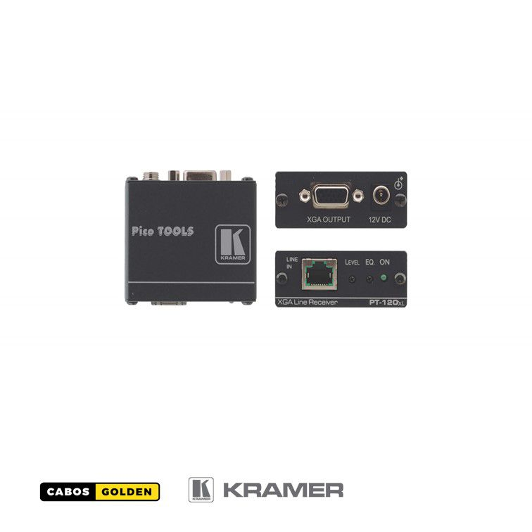 Receptor VGA via Cat ( Cabo de Rede ) - Kramer