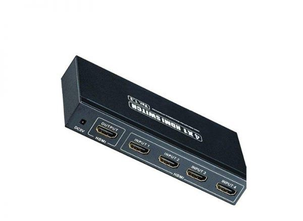 Seletor HDMI entra 3 sai 1 com controle remoto IR 4k2k@30HZ 4:2:0 - 10,2Gbps