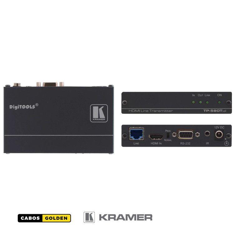 Transmissor HDMI HDCP 2.2 4: 2: 0 com RS-232 e IR sobre HDBaseT de alcance estendido - 4k60