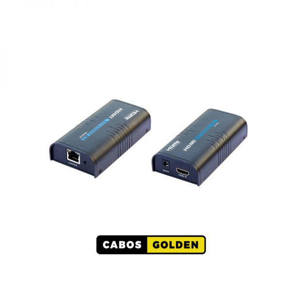 Extender HDMI via IP para 120m 1080p 60Hz Cat5 / Cat6