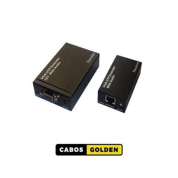 Transmissor e receptor XGA 1920 x 1200 com áudio chega 300m