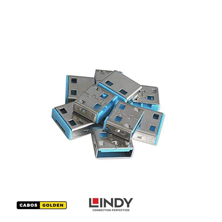 USB Port Blocker (without key) – Pacote com 10