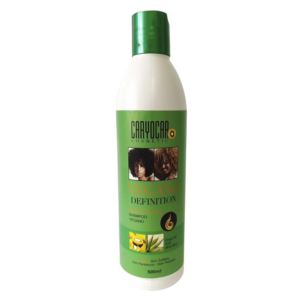 Shampoo vegano definition brilho e saúde para seus Cachos