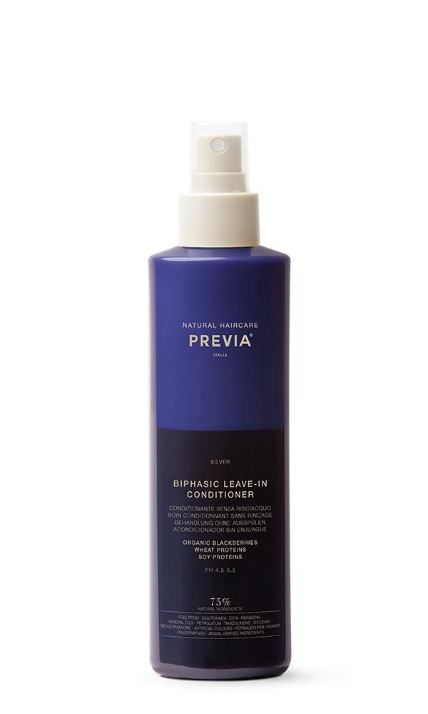 PREVIA SILVER BIPHASIC LEAVE IN 250ML