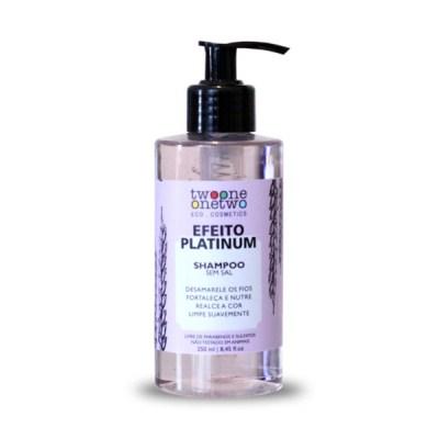 Shampoo Efeito Platinum Violet Flowers 250ml - TWOO