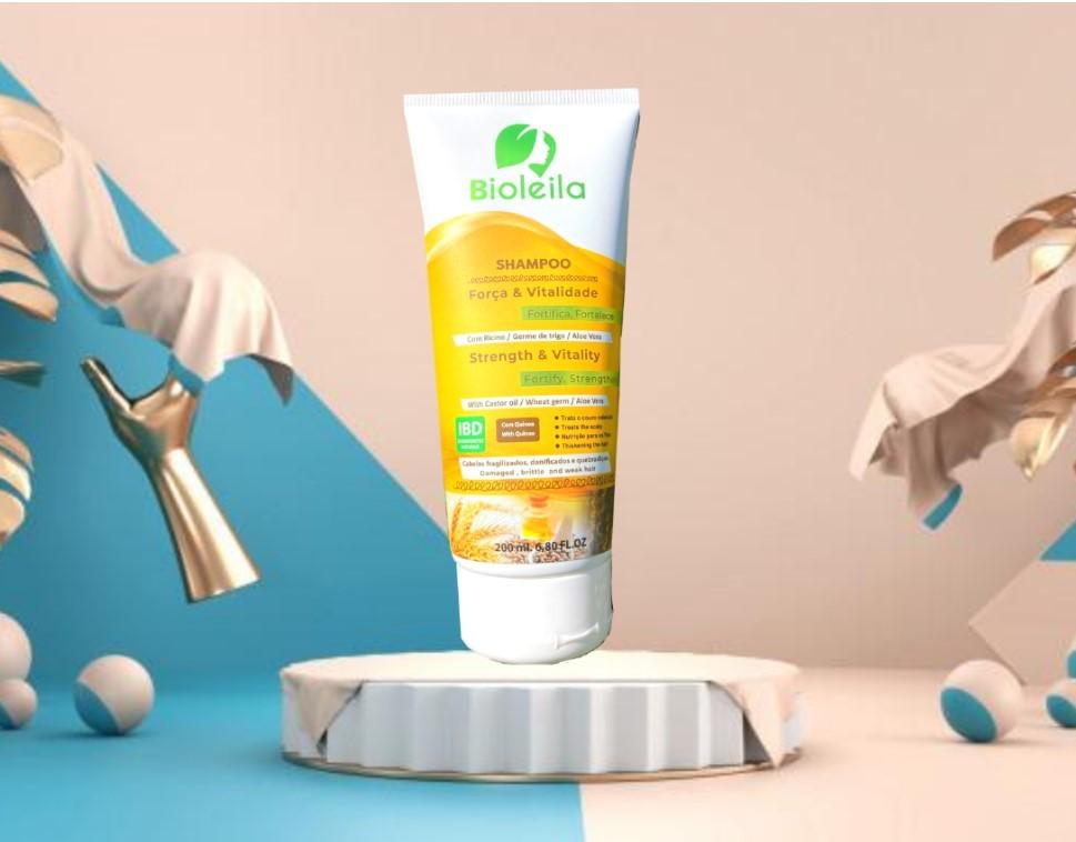 Shampoo forca e vit. cab. Afro