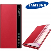 Capa Original Samsung Clear View Galaxy Note 10 6.3 pol SM-N970
