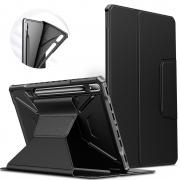Capa Premium Flex Cover Tab S7 FE 12.4 pol 2021 SM-T730 c/ Função Wake Sleep e Suporte S pen