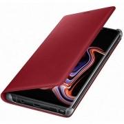 Capa Samsung Original Flip Wallet em Couro com Porta Cartão Galaxy Note 9 N960