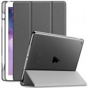 Capa Transparente Séries iPad 7 10.2 pol 2019 com Suporte Para Caneta A2197 e A2200
