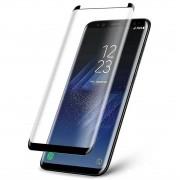 Película De Vidro Galaxy Note 8 Tela Curva Cola Na Tela Toda