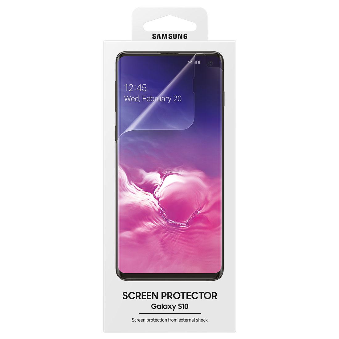 2x Película Protetora Original Samsung Galaxy S10 6.1 Pol G973