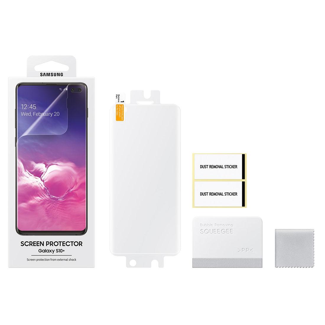 2x Película Protetora Original Samsung Galaxy S10 Plus 6.4 Pol G975