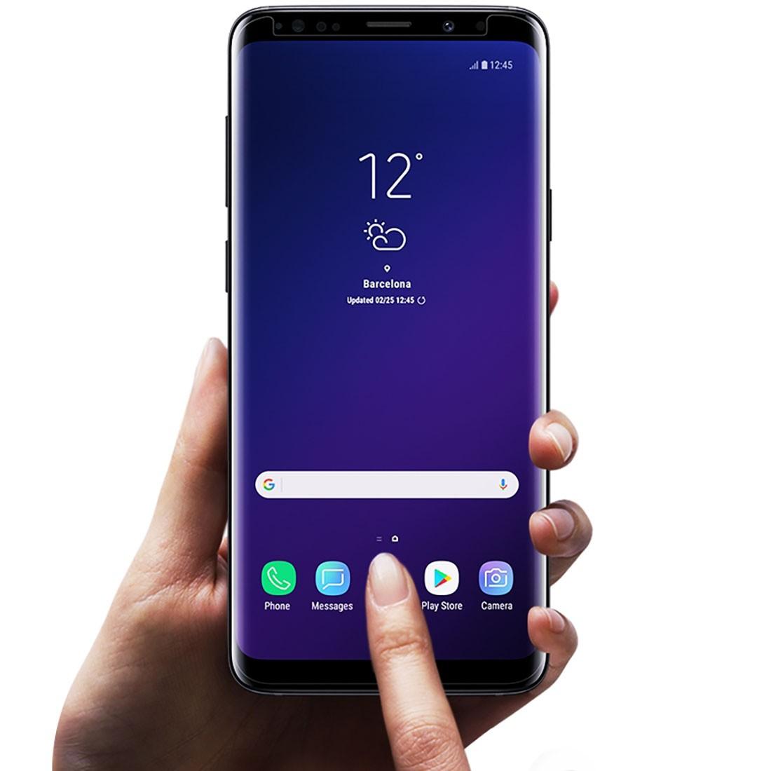 2x Película Protetora Original Samsung Galaxy S9 5.8 pol SM-G960