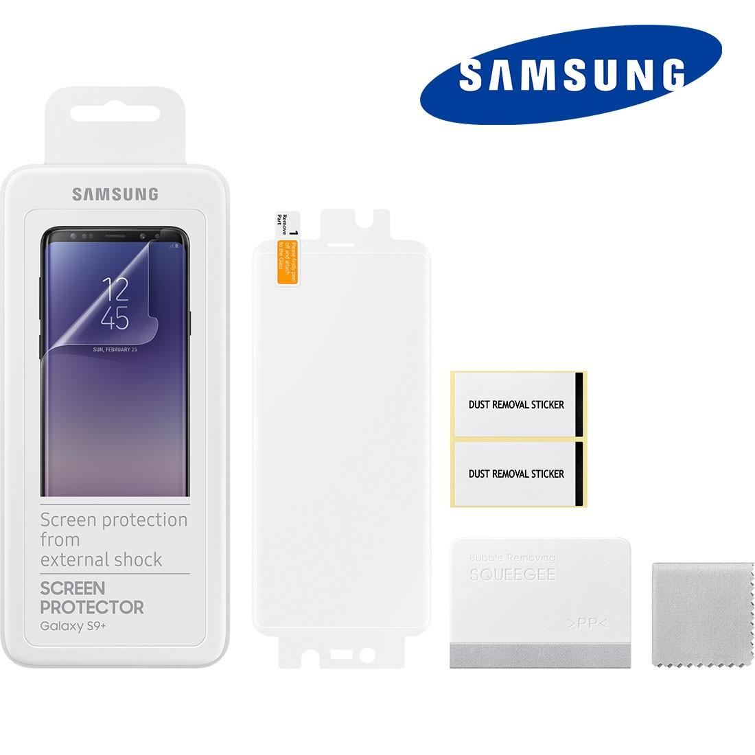 2x Película Protetora Original Samsung S9 Plus 6.2 pol G965