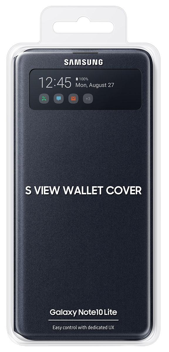 Capa Carteira Flip Wallet Samsung Galaxy Note 10 Lite EF-EN770PBEGBR