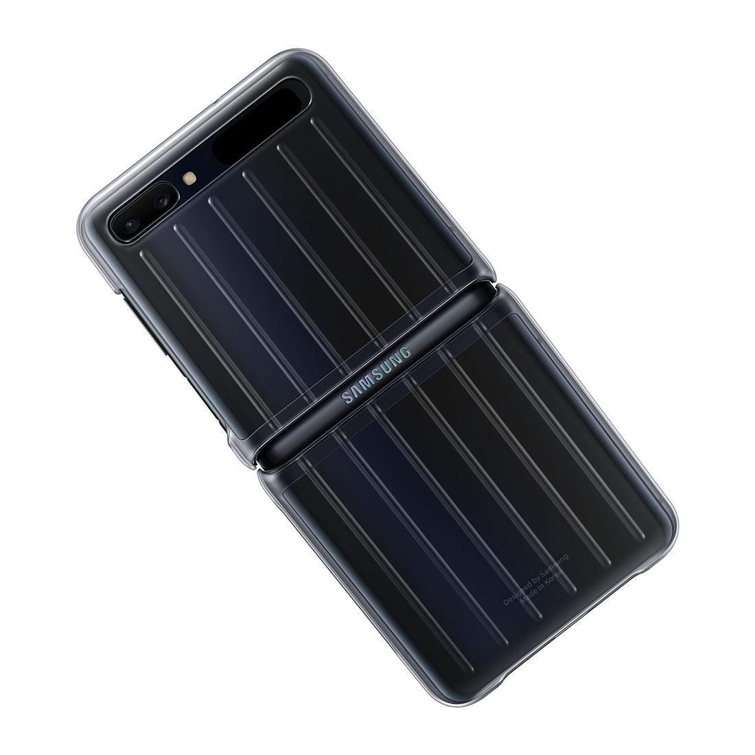 Capa Original Samsung Clear Cover Galaxy Z Flip 6.7 Pol F700