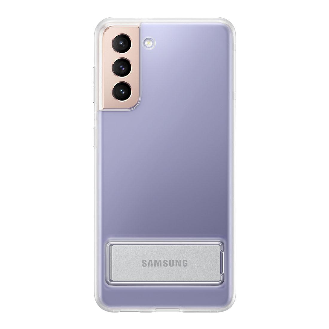 Capa Original Samsung Clear Standing Galaxy S21 6.2 pol G991