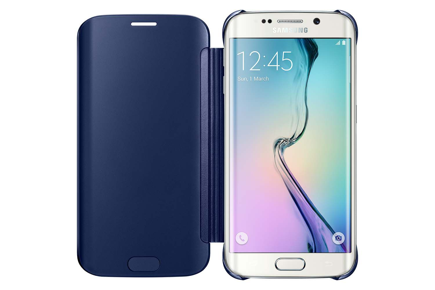 Capa Original Samsung Clear View Cover Galaxy S6 Edge G925