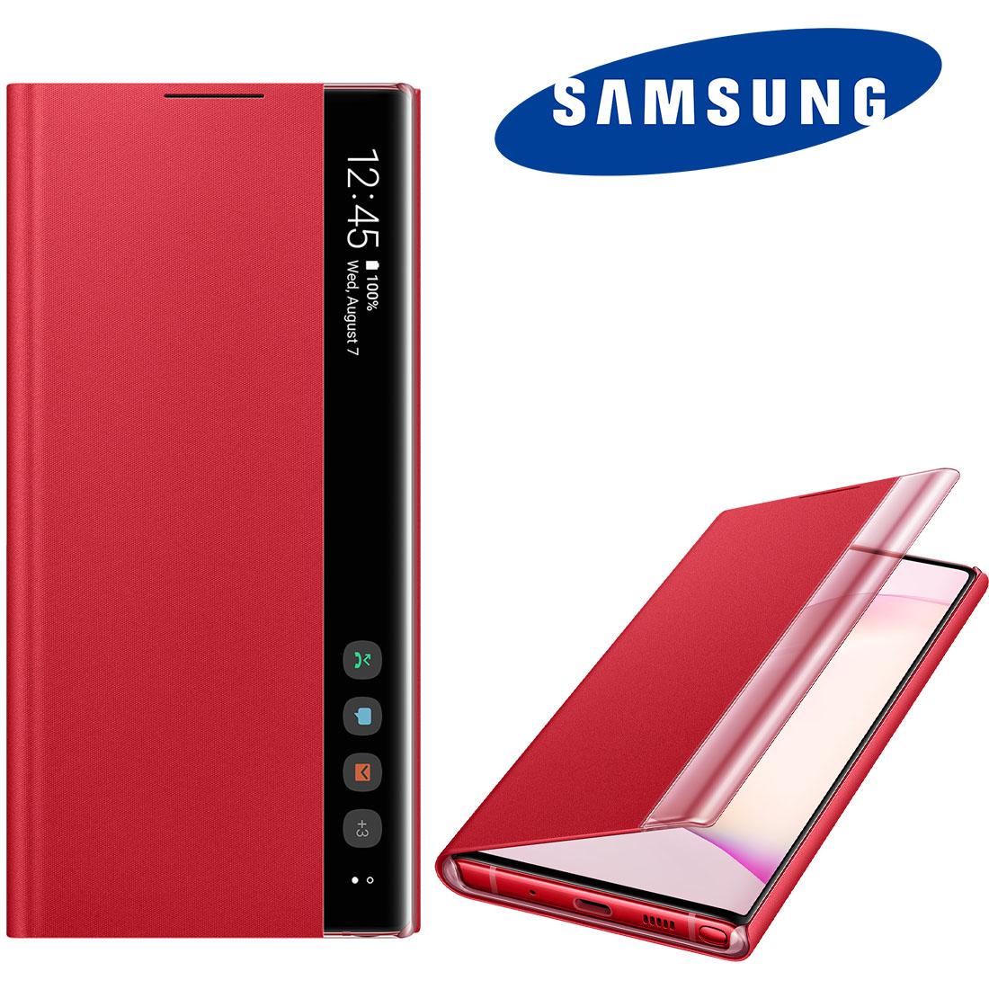 Capa Original Samsung Clear View Galaxy Note 10 6.3 pol SM-N970