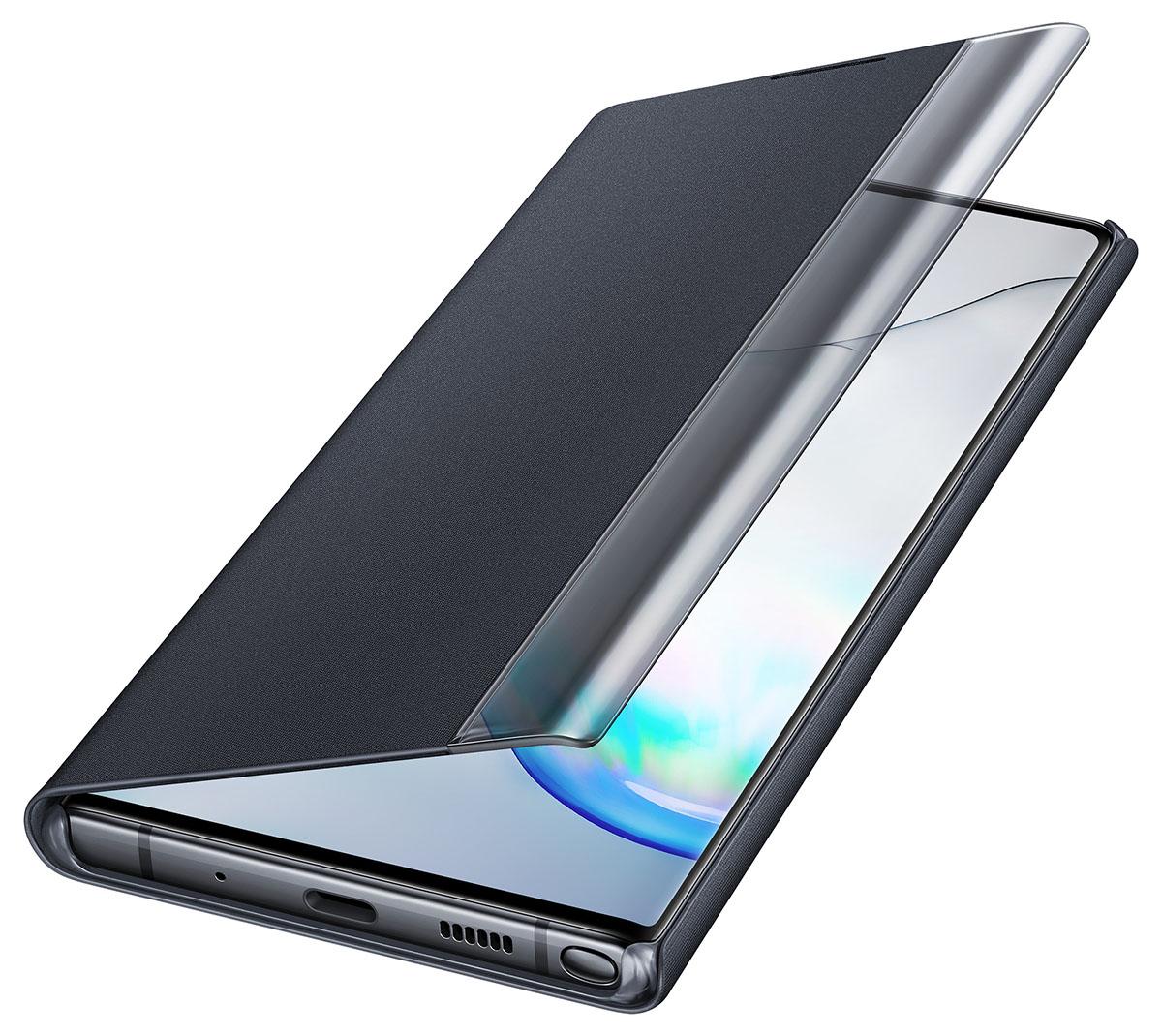 Capa Original Samsung Clear View Galaxy Note 10 Plus SM-N975  - HARS
