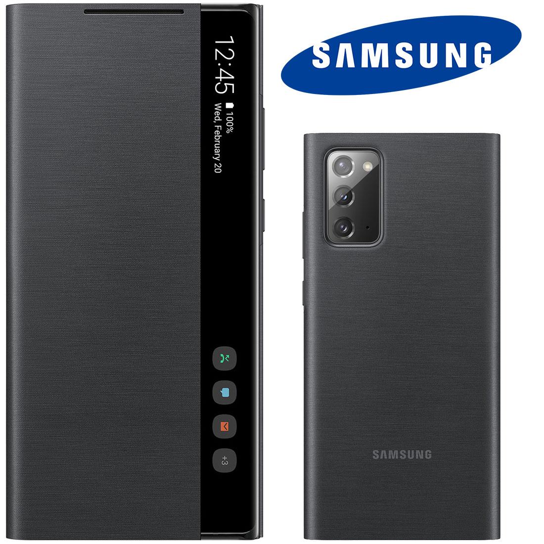 """Capa Original Samsung Clear View Galaxy Note 20 6.7"""" N980"""