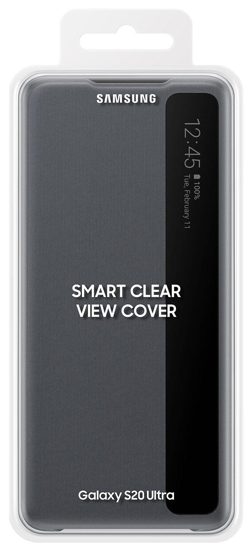 Capa Original Samsung Clear View Galaxy S20 Ultra SM-G988