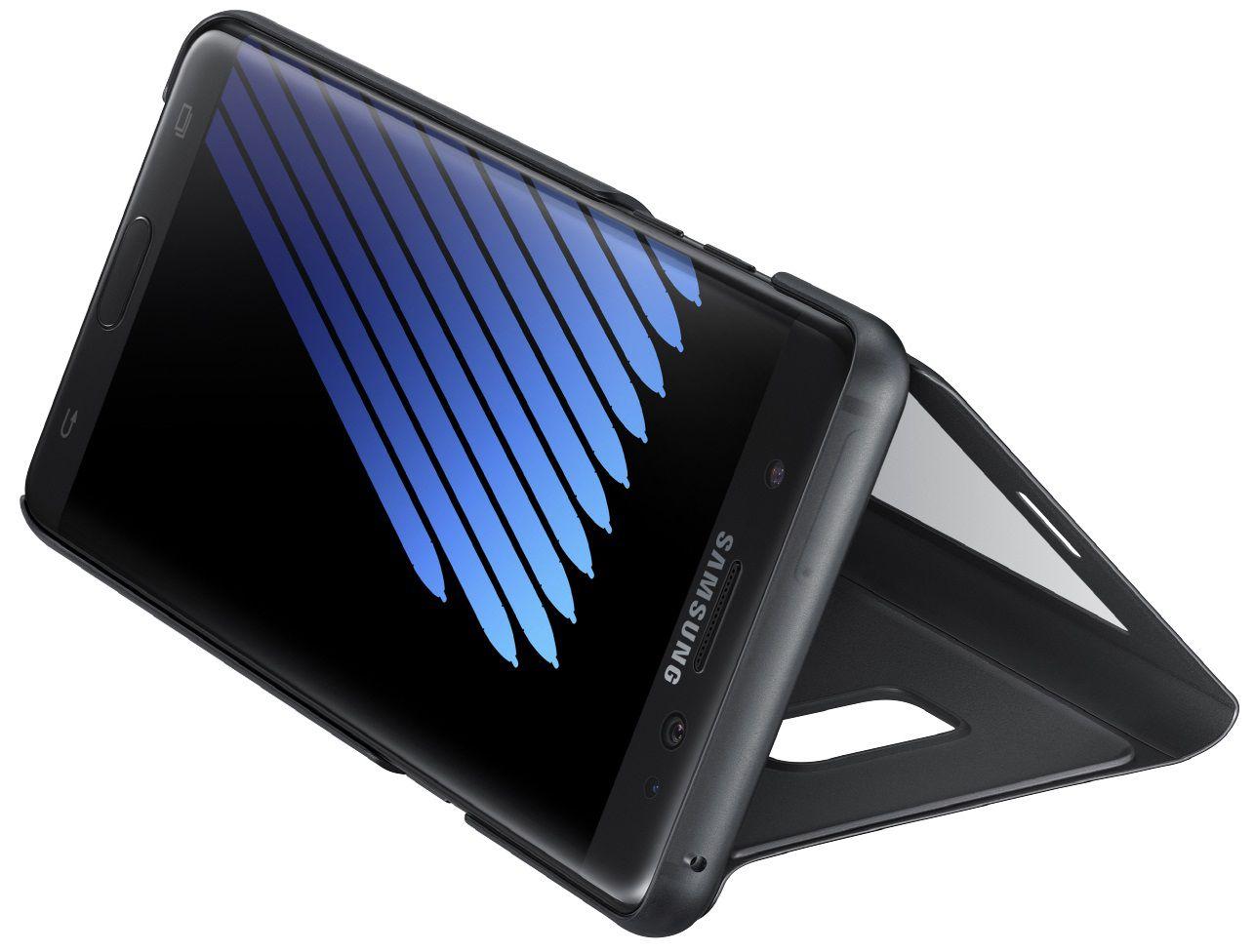 Capa Original Samsung S view Galaxy Note 7 SM-N930 Preta - Preta