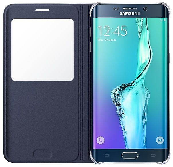 Capa Original Samsung S View S6 Edge Plus Flip Cover SM-G928