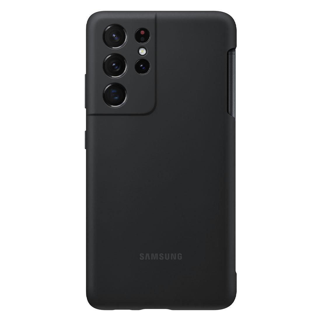 Capa Original Samsung Silicone com S Pen Galaxy S21 Ultra 6.8 Pol G999  - HARS