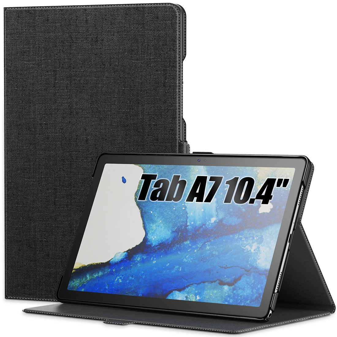 Capa Premium Classic Series com Fino Acabamento Galaxy Tab A7 10.4 pol 2020 SM-T500 e SM-T505