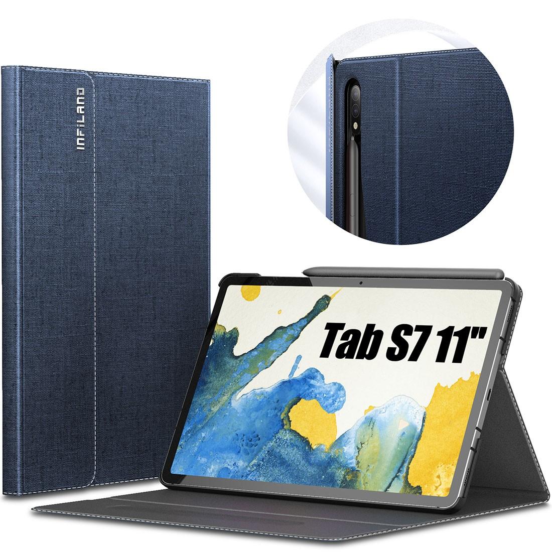 Capa Premium Classic Series com Fino Acabamento Galaxy Tab S7 11 pol 2020 SM-T870 e SM-T875