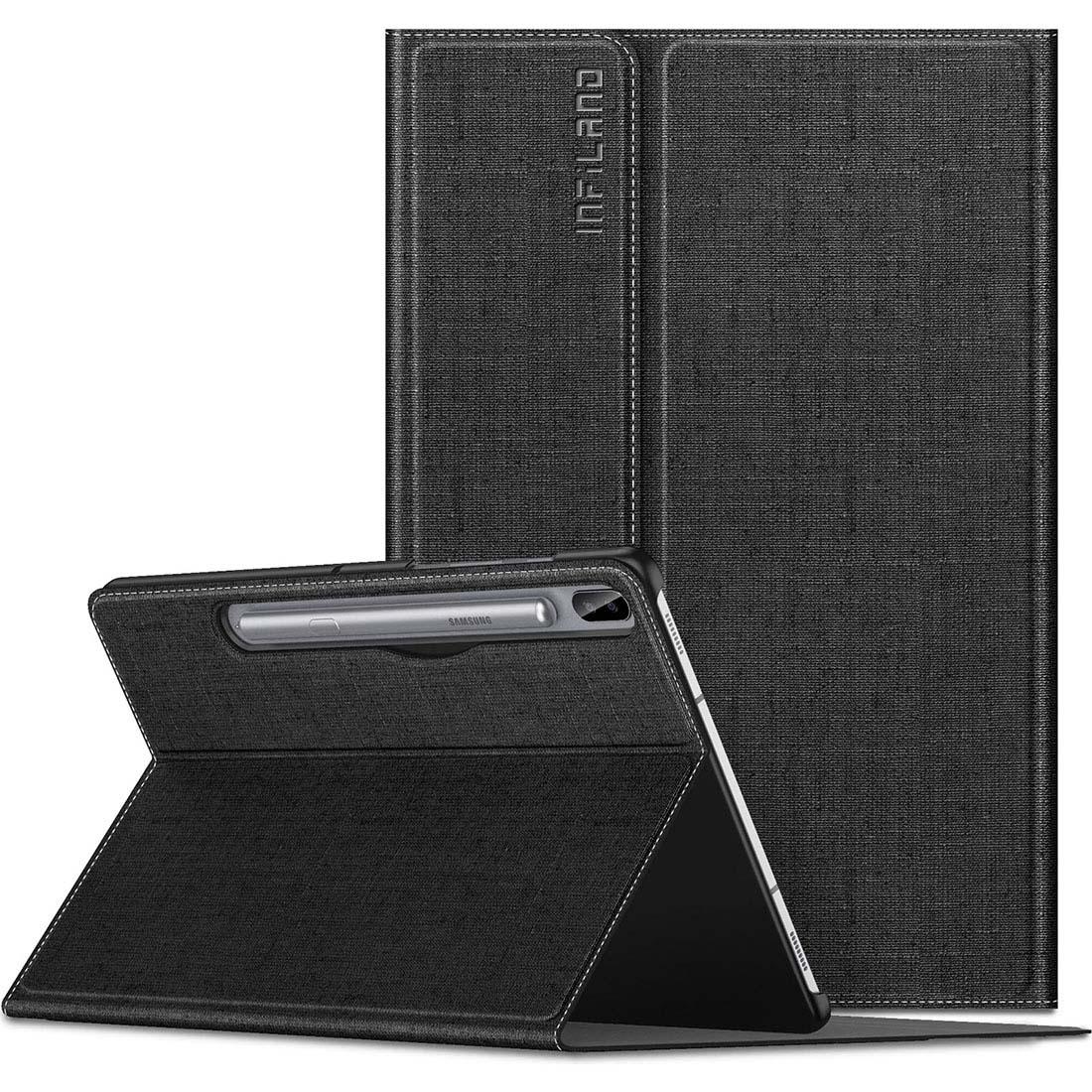 Capa Premium Classic Series Com Fino Acabamento Para Samsung Galaxy Tab S6 10.5 pol SM-T860 SM-T865