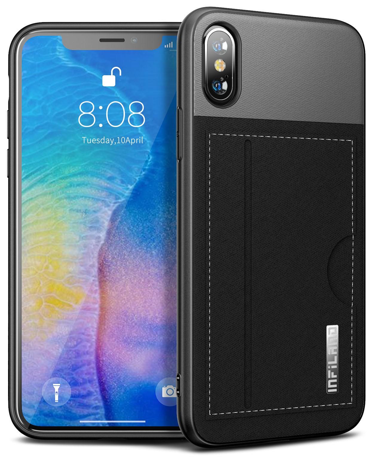 Capa Premium Classic Series Porta-Cartão IPhone X e XS A1920 A2097