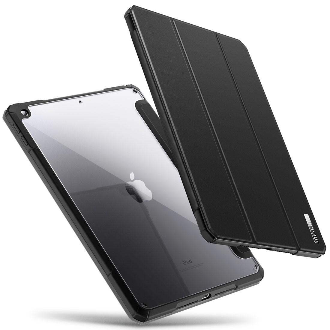 Capa Premium Crystal Series com fino acabamento iPad 8 10.2 pol A2270 A2428