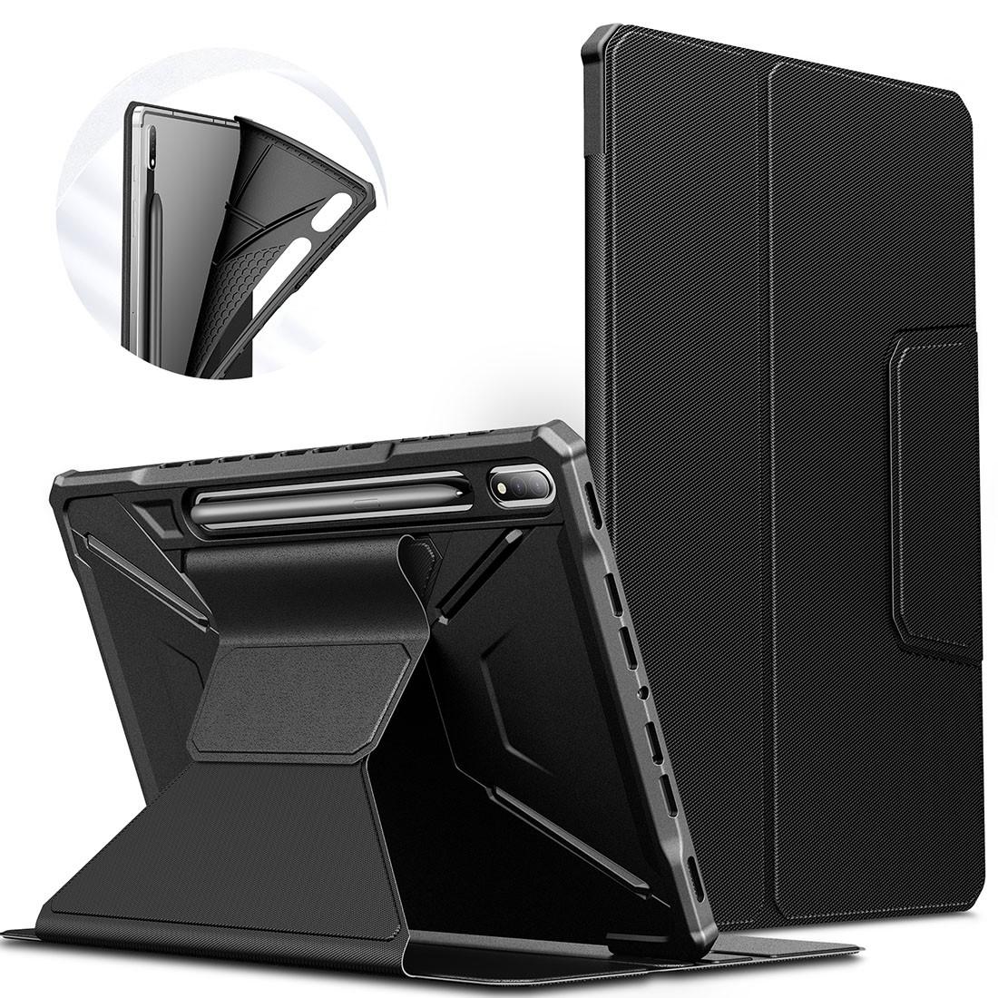 Capa Premium Flex Cover com Fino Acabamento Galaxy Tab S7 Plus 12.4 pol 2020 SM-T970 e SM-T975