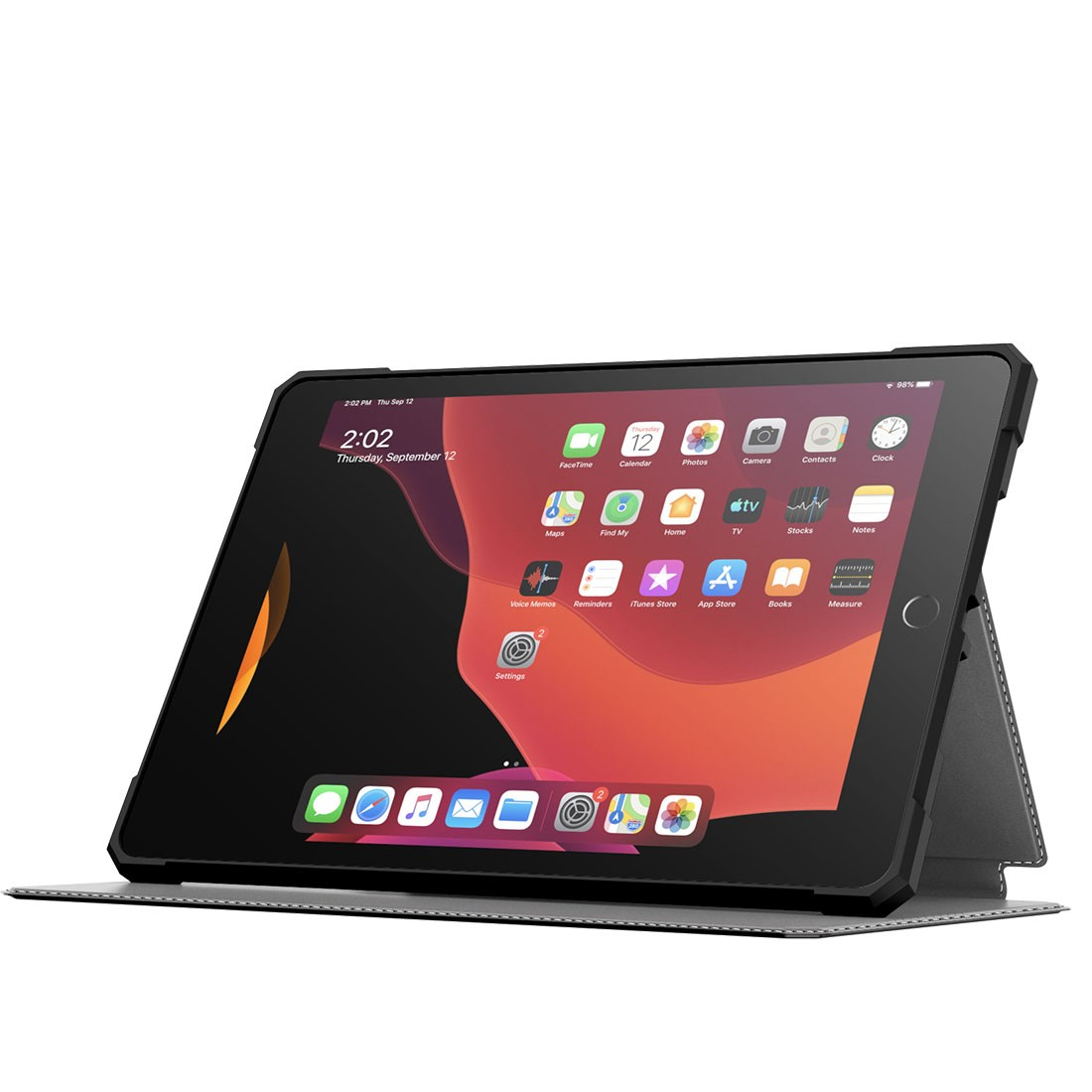 Capa Premium Shockproof Anti Impacto para iPad 8 10.2 pol 2020 A2270 A2478